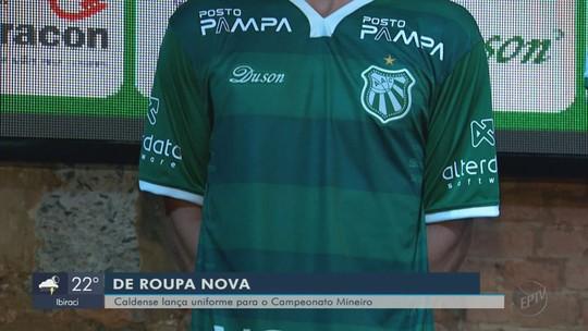 Caldense apresenta novos uniformes para temporada 2019 antes da estreia no Mineiro