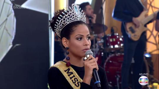 Monalysa, a Miss Brasil 2017, entrega: 'Sempre duvidavam de mim'