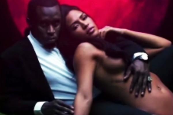 Sean Diddy e a ex-namorada, a modelo Cassie (Foto: Divulgação)