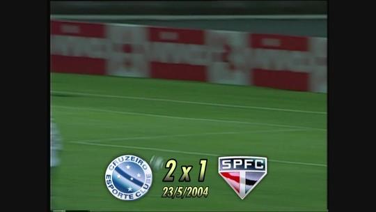 Você se lembra? Com hat-trick de Luan, Cruzeiro vence São Paulo e quebra tabu histórico, em 2013