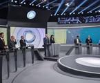 Presidenciáveis participam de debate na Record | Nelson Almeida / AFP