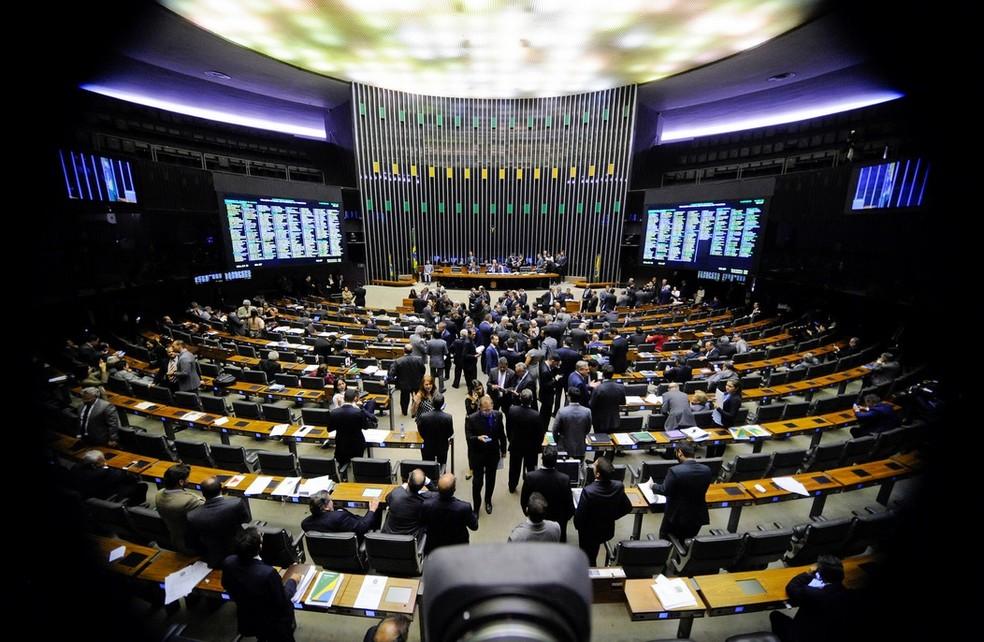 Plenário da Câmara dos Deputados (Foto: Jonas Pereira/Agência Senado)