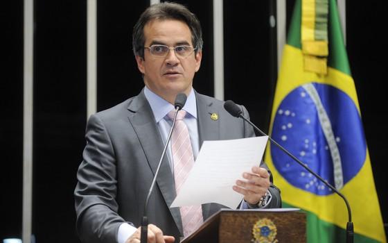 O senador Ciro Nogueira (PP-PI) cobra compensação para estados e municípios por desonerações concedidas pela União (Foto: Moreira Mariz/Agência Senado)