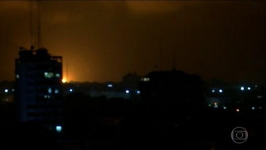 Foguetes são disparados da Faixa de Gaza contra Tel Aviv, em Israel