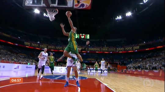 Brasil vence a Nova Zelândia por 102 a 94 no mundial de basquete
