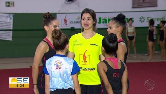 Ginastas sergipanas vão disputar Brasileiro Infantil e seletiva para o Sul-Americano no Rio