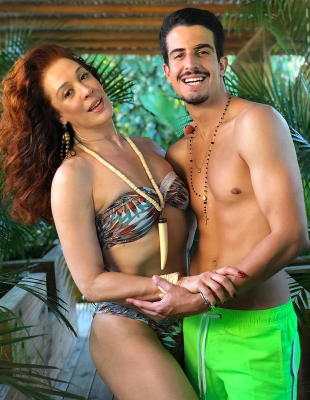 Claudia Raia e Enzo Celulari (Foto: Reprodução/Instagram)