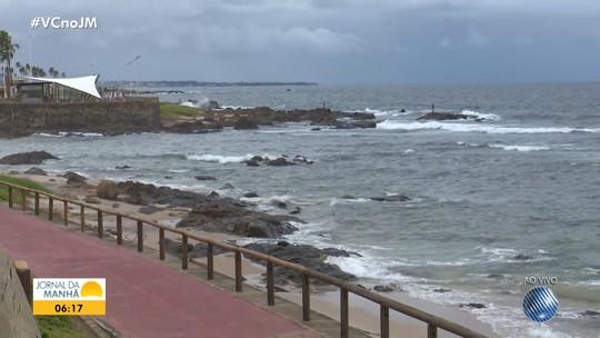 Previsão do tempo: Salvador tem pancadas de chuva e ventania nesta terça-feira