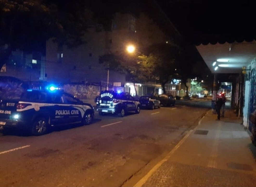 Os indivíduos são suspeitos de mais de 20 crimes — Foto: Polícia Civil/Divulgação