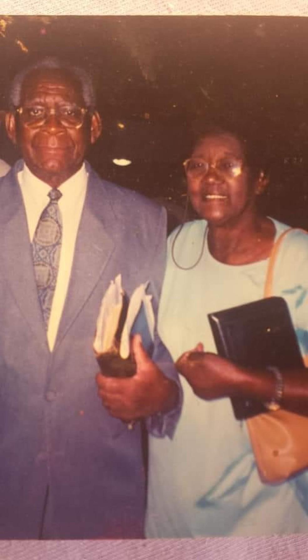 Pastor e a mulher morreram — Foto: Arquivo pessoal