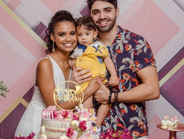 Rafael Cupello e Aline Dias (Foto: Reprodução / Instagram)