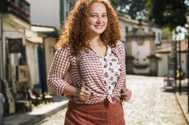 Catarina Carvalho como Michelle em 'Espelho da vida' (Foto: TV Globo)