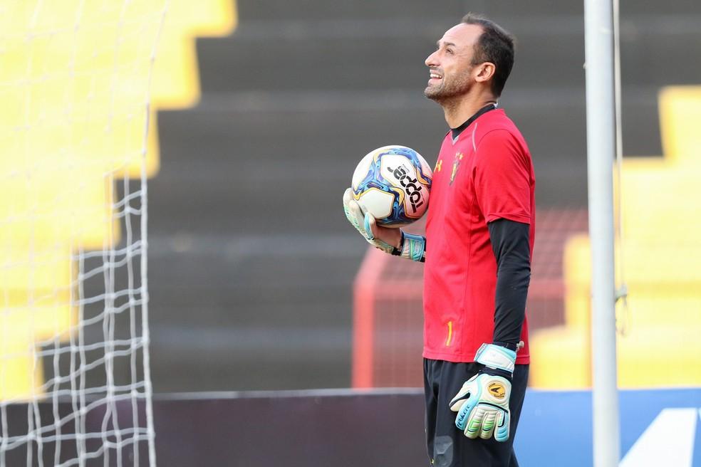 Magrão deixou o Sport na metade do ano passado, durante a disputa da Série B — Foto: Marlon Costa/Pernambuco Press