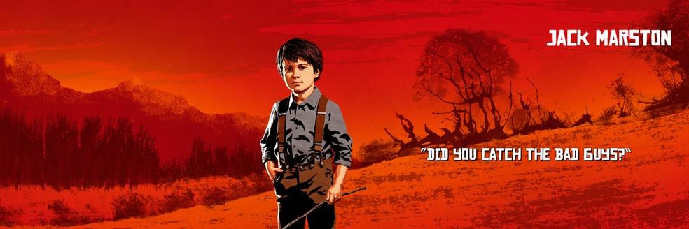 Jack Marston, de Red Dead Redemption 2 — Foto: Divulgação/Rockstar