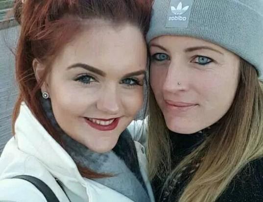 Laura e a namorada