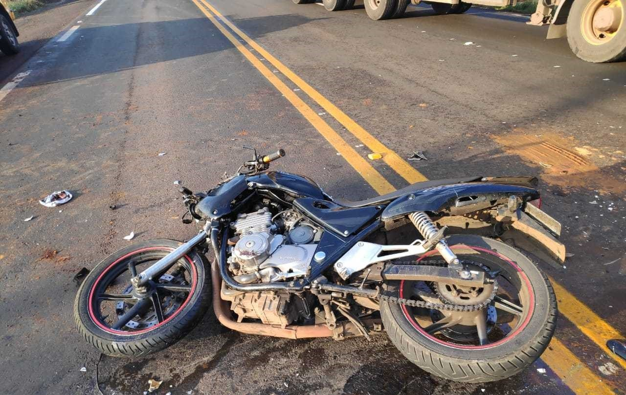 Motociclista morre em acidente na ERS-135, em Erechim - Notícias - Plantão Diário