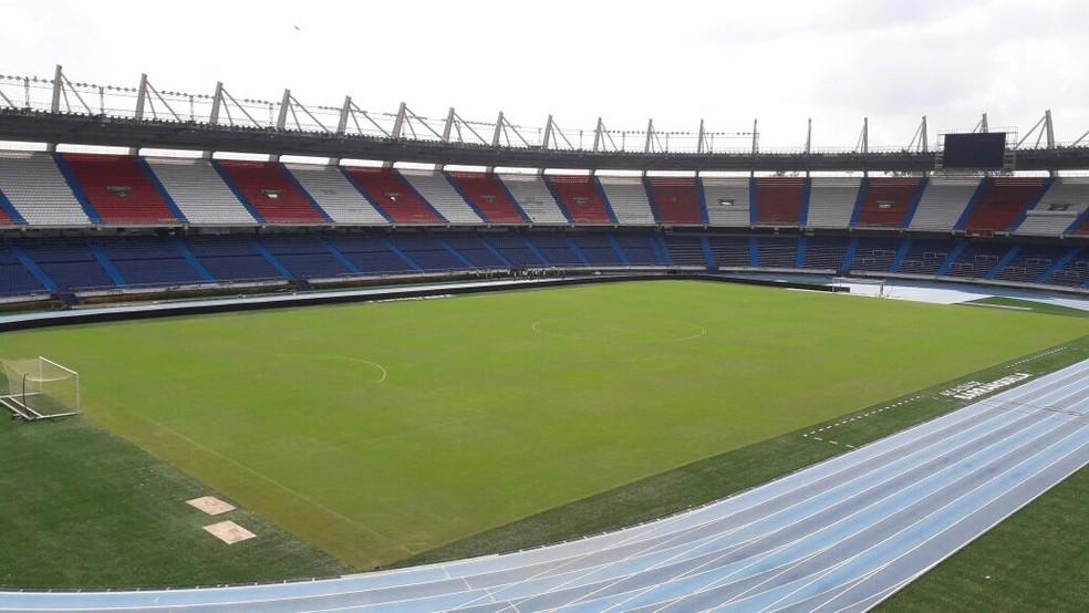 Esta será a visão que terão os torcedores do Flamengo que forem ao Metropolitano (Foto: Bruno Giufrida)