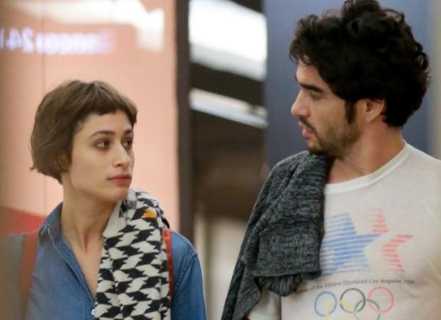 Caio Blat e Luisa Arraes (Foto: THIAGO MARTINS/AGNEWS)