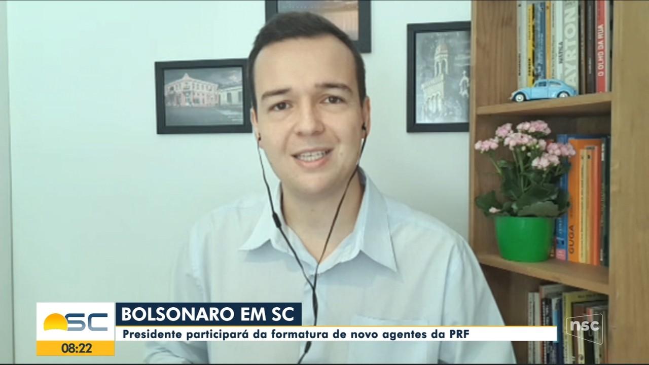 Ânderson Silva comenta visita do presidente Bolsonaro em SC