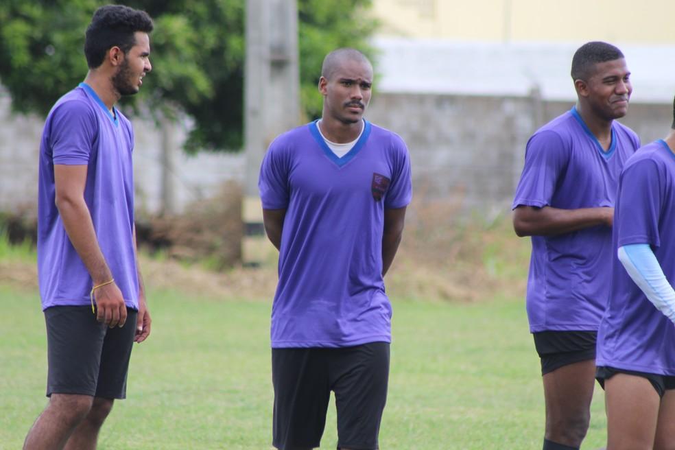 Anderson Silva, Fla-PI (Foto: Stephanie Pacheco/GloboEsporte.com)