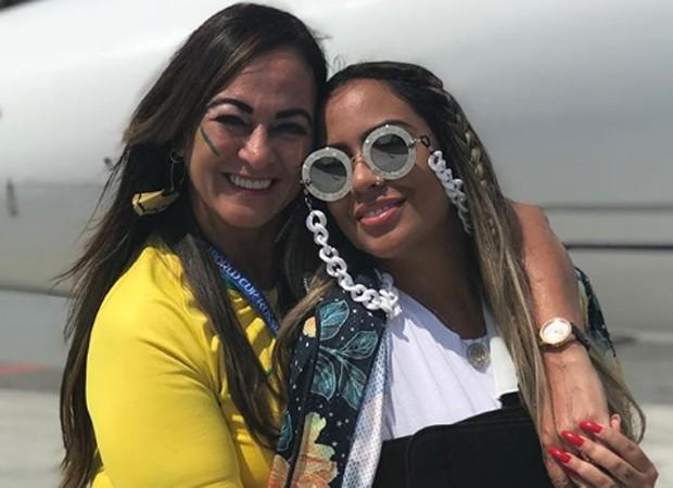 Nadine e Rafaella, mãe e irmã de Neymar (Foto: Reprodução/Instagram)