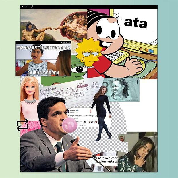 Memes: Política também é piada (Foto: reprodução / divulgação. Montagem sobre fotos: Victor Amirabile)
