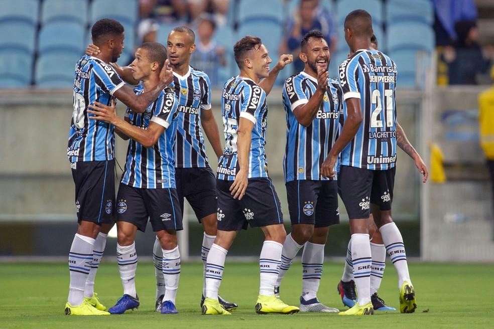 Grêmio bateu o São José no último sábado — Foto: WESLEY SANTOS/ESTADÃO CONTEÚDO