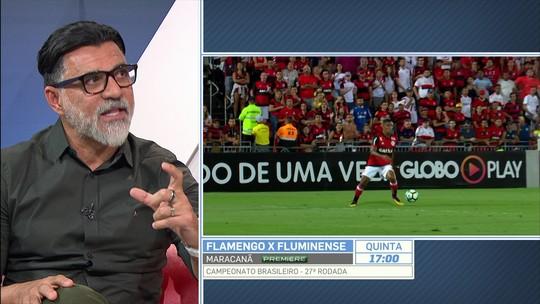 """Barreto acha """"muito difícil"""" Guerrero jogar o Fla-Flu: """"Brasileiro voltou a importar?"""""""