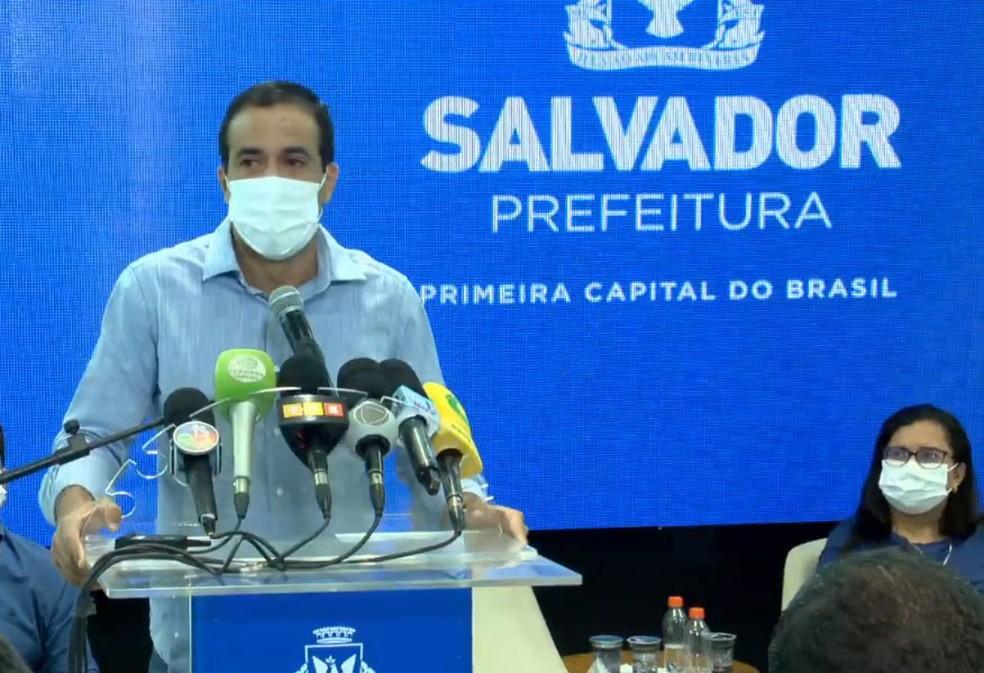 Prefeito de Salvador afirma que tendência é adiar carnaval em julho, mas espera vacinação para confirmar: 'Prefiro aguardar'