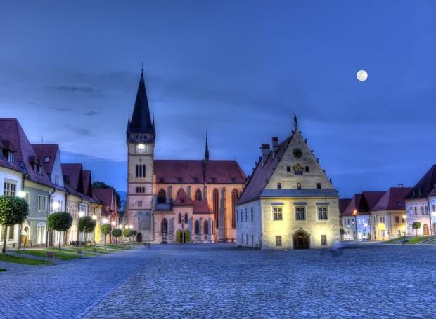 Vilarejo Bardejov, na Eslováquia (Foto: Thinkstock)