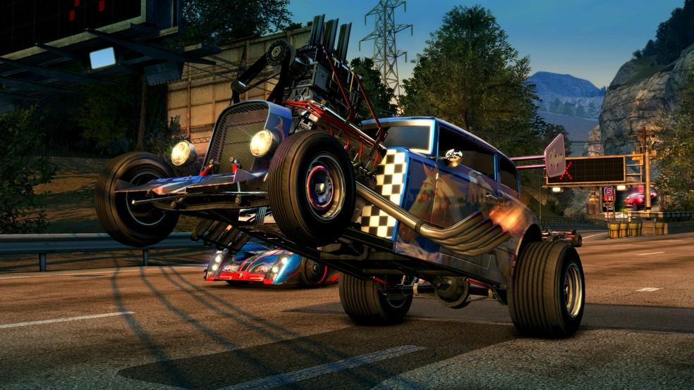 Burnout Paradise foi um dos primeiros jogos da EA a ter mundo aberto (Foto: Divulgação/EA)