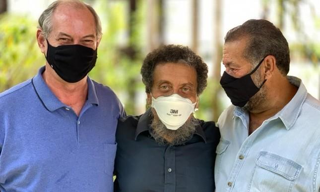 Ciro Gomes e João Santana