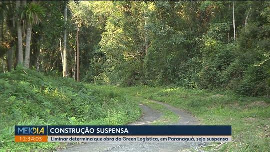 Liminar suspende construção de pátio de caminhões investigado pela Operação Superagui, em Paranaguá