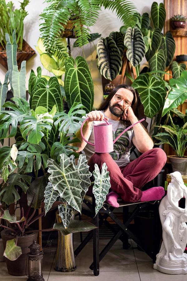 5 apaixonados por plantas que você precisa conhecer (Foto: Brendo dos Reis)