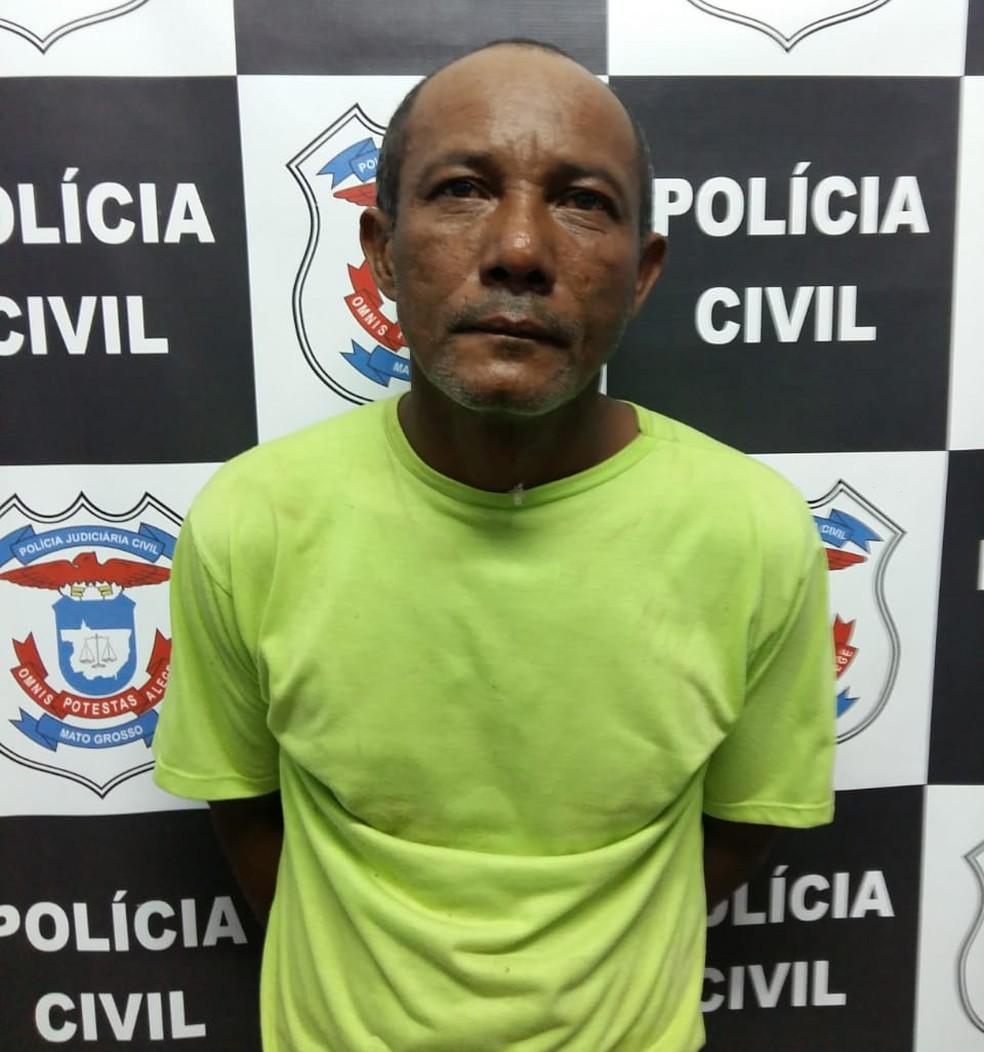Sabino Guia da Silva, de 52 anos, foi preso — Foto: Divulgação