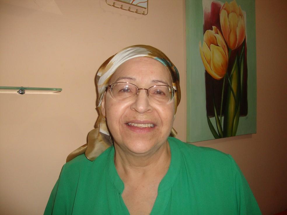Ela superou o câncer duas vezes — Foto: Arquivo pessoal