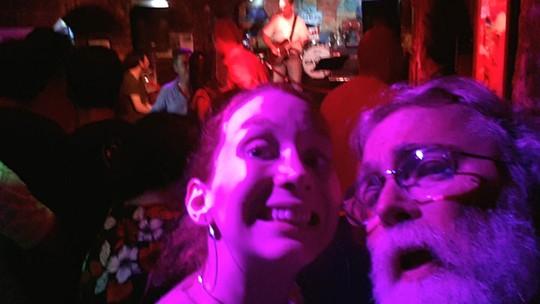 Vocalista da Georgia cantou 'Oh! Darling!' para o pai no bar onde começou a carreira dos Beatles