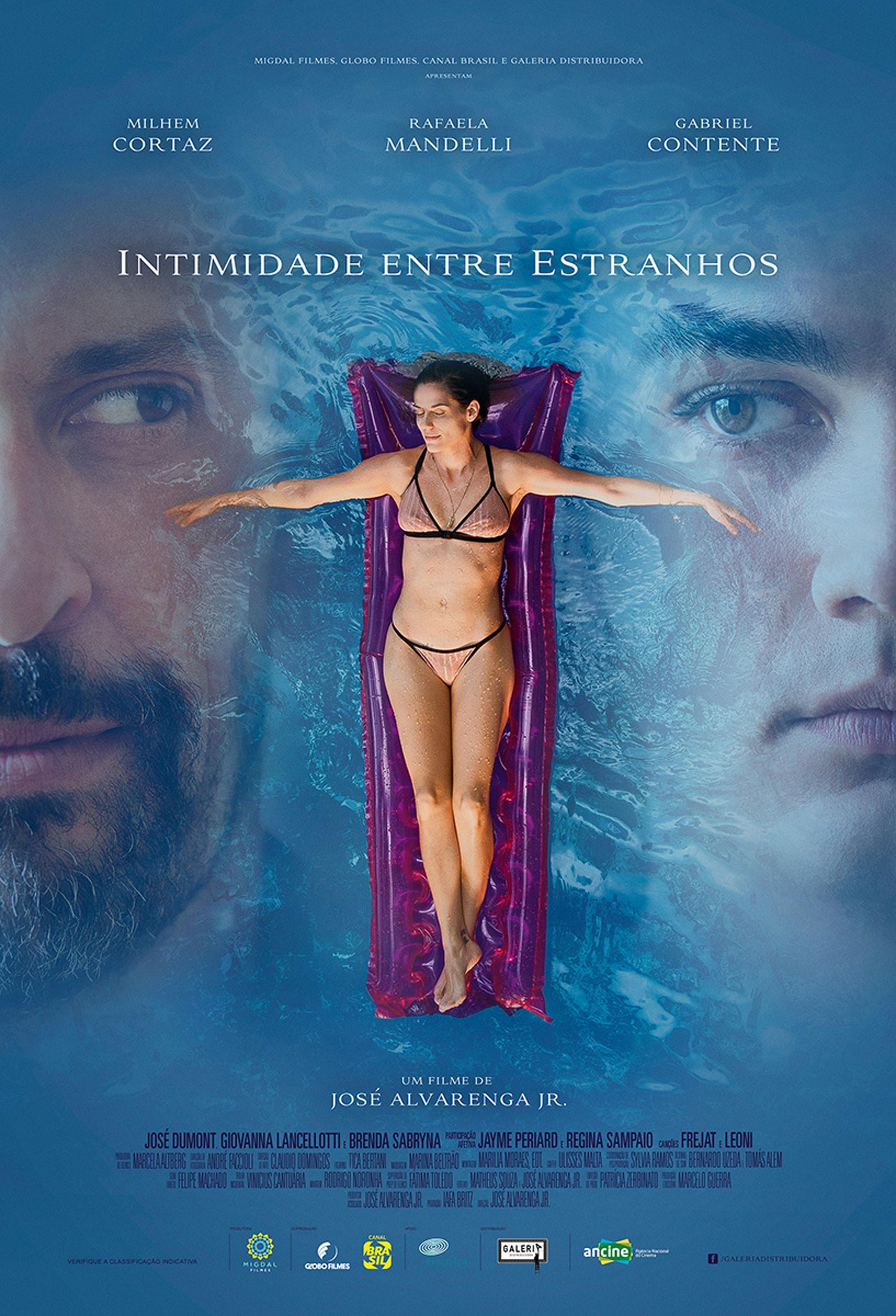 Rafaela Mandelli e Milhem Cortaz estrelam 'Intimidade entre estranhos'; assista ao trailer