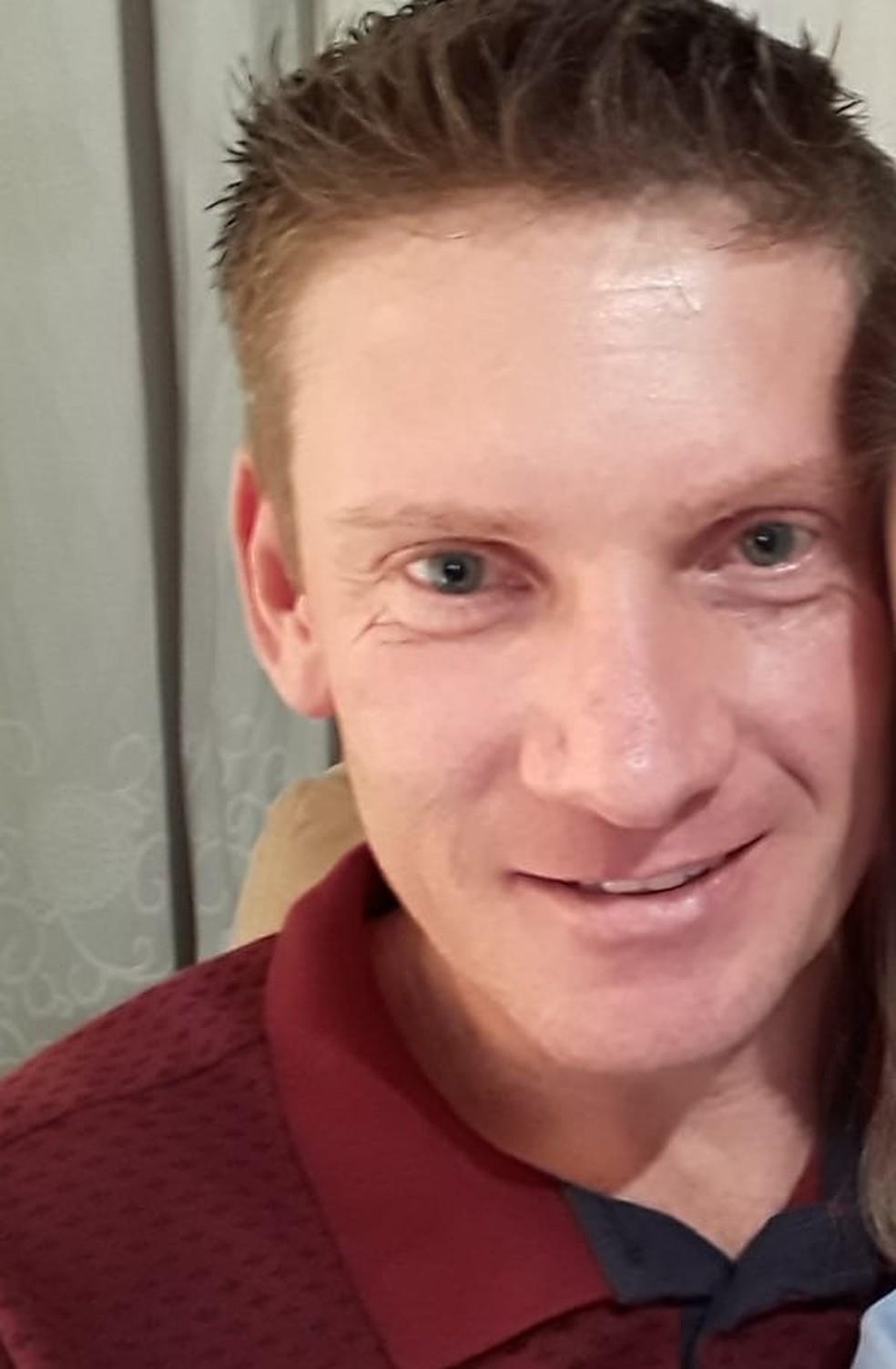 Ivar Amauri, de 39 anos, morreu soterrado em silo de soja em MT — Foto: Arquivo pessoal