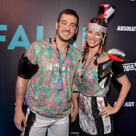 Marcos Veras e Rosanne Mulholland (Foto: Thiago Ribeiro)