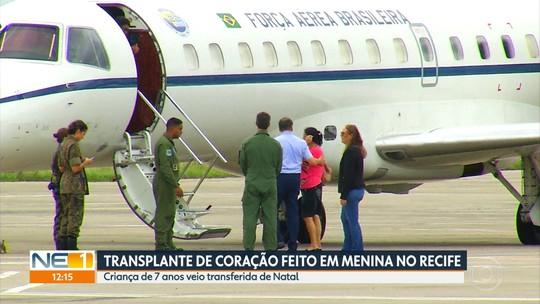 Menina do RN que fez transplante de coração no Recife passa por nova cirurgia para conter sangramento