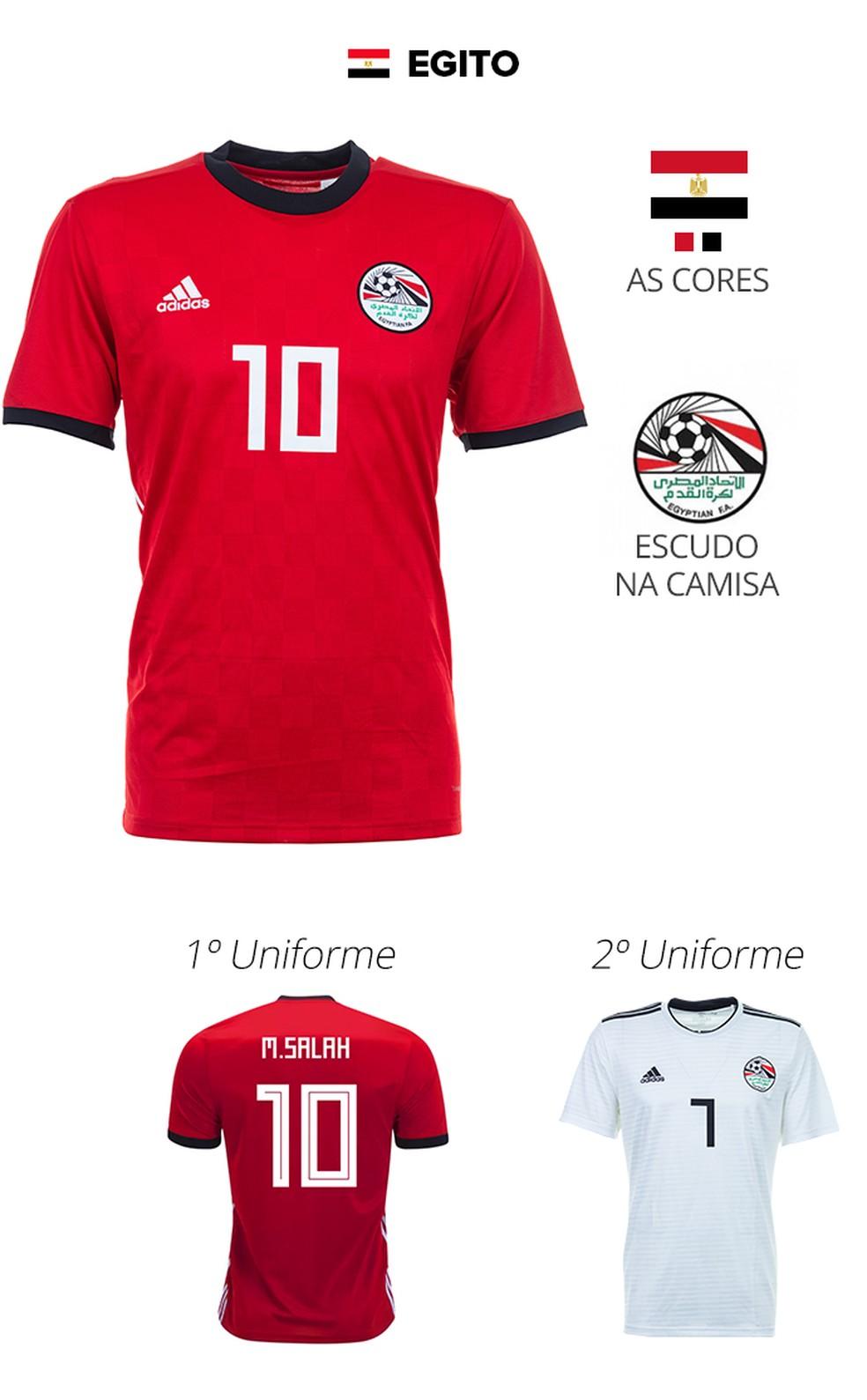 d39a43a2eea25 As camisas das 32 seleções da Copa