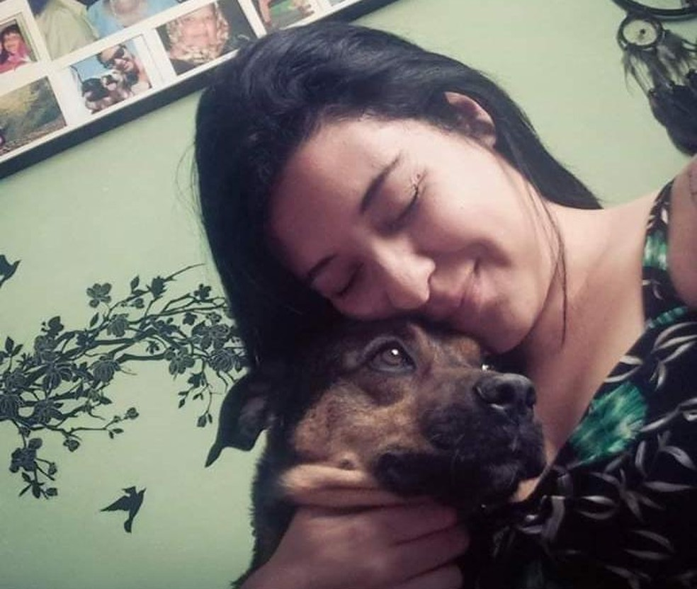 Moradora de Jundiaí escreveu 'carta' de cãozinho abandonado em Jundiaí  — Foto: Juliana Romero/Arquivo pessoal