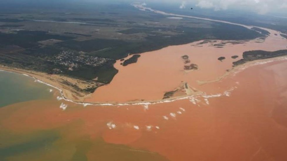 Há três anos, barragem da Samarco se rompeu e causou um dos maiores desastres ambientais da história — Foto: Fred Loureiro/ Secom-ES