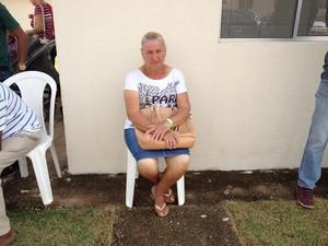 Jacira esperou quatro anos para poder pegar a chave do imovel em Porto Velho (Foto: Matheus Henrique/G1)