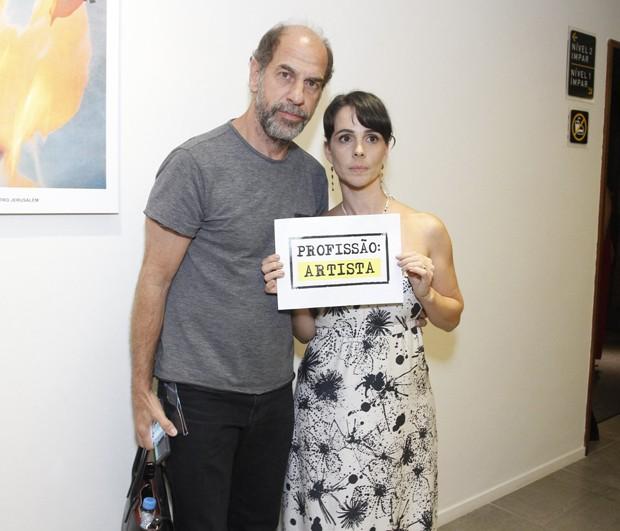 Roberto Bomtempo e Miriam Freeland (Foto: Thyago Andrade/Brazil News)