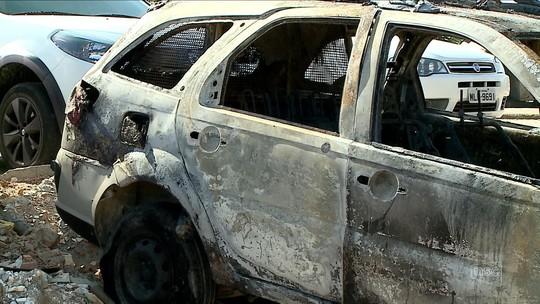 Prédios, carros e residência de integrantes da segurança pública são alvo de criminosos em 14 cidades de SC