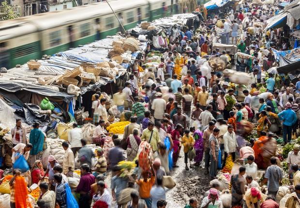 O país se tornou a sexta maior economia do mundo em 2017 (Foto: Getty Images)