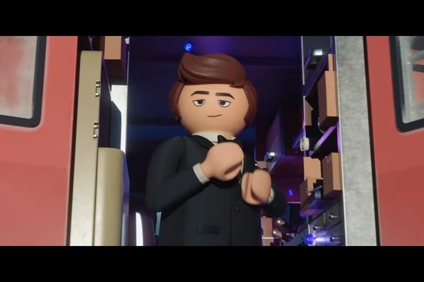 Uma das cenas de Playmobil, O Filme (Foto: Reprodução)