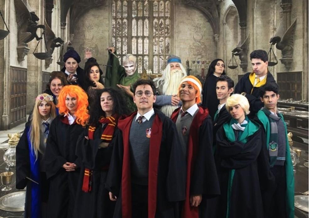 Elenco do musical Reles Potter (Foto: Reles Potter/Divulgação)